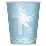 communion cup blue